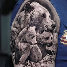 VK is the largest European social network with more than 100 million active users. Hai Tattoo, Cubs Tattoo, Bear Tattoos, Animal Tattoos, Body Art Tattoos, Tatoos, Wolf Tattoo Sleeve, Sleeve Tattoos, Little Cross Tattoos