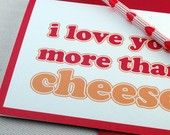 No way!  Cheese is the high bar in my family!