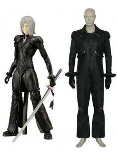 Final Fantasy VII Kadaj Halloween Costumes Cosplay