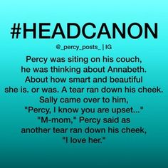 Then Annabeth comes through the door It turns out Percy was just trying to get the courage to propose to her Percy Jackson Head Canon, Percy Jackson Memes, Percy Jackson Books, Percy Jackson Fandom, Percy And Annabeth, Annabeth Chase, Solangelo, Percabeth, Magnus Chase