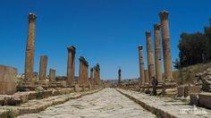 Jerash - the cardo