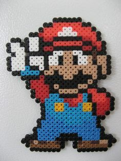 Made with Perler beads