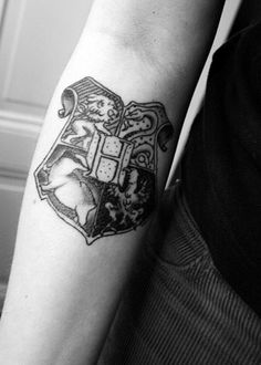 Cool looking Harry Potter tattoo