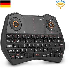 "Gute handl. Tastatur, für ""norm."" Smart TV eher ungeeignet  Computer & Zubehör, Mäuse, Tastaturen & Eingabegeräte, Tastaturen Android Tv, Tv Box, Computer Keyboard, Mini, Electronics, Keyboard, Remote, Lighting, Computer Keypad"