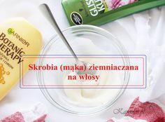 Skrobia ziemniaczana oprócz zastosowania w kuchni, świetnie sprawdza się także w pielęgnacji włosów. Wymieszana z maską czy odżywką, wygładza włosy i dodaje im blasku. Beauty, Cosmetology