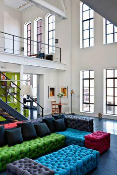 loft moderno - Sofa