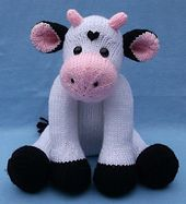 Ravelry: Cow, Blankie & Rattle/Bottle Buddy pattern by Lorraine Pistorio