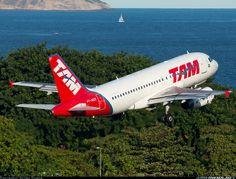 Airbus A319-132 aircraft picture @Kate Mazur Davis de Janeiro - Santos Dumont (SDU / SBRJ)