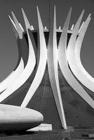 Oscar Niemeyer, cathedral of Brasilia