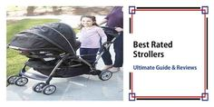 Best Rated Strollers in 2020 – Guide To Getting The Right Model! Baby Stroller Brands, Cheap Baby Strollers, Baby Girl Strollers, Double Baby Strollers, Toddler Stroller, Twin Strollers, Baby Prams, Toddler Toys, Baby Toys