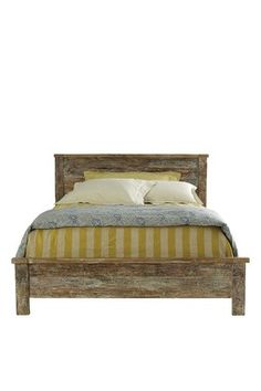 Perfect rustic bed and furniture.. I need it all now.