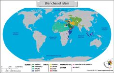 No. Islam is divided into several branches and sub-sects. There are four major branches of Islam; Sunni, Shia, Sufi and Ahmadiyya. Khawarij was a branch in the early centuries of Islam but later became extinct. Sunni Islam There are around 1.2 billion Muslims worldwide with around 941 million being SunniRead More
