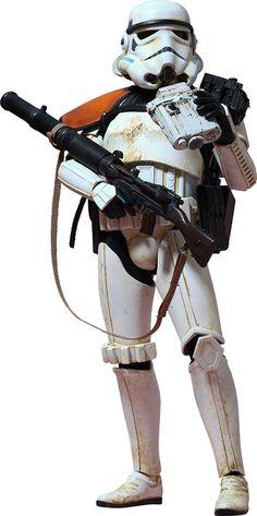 Star Wars Movie Masterpiece Action Figure 1/6 Sandtrooper