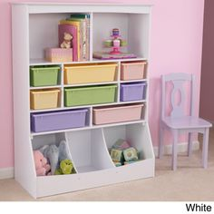 KidKraft Kid's Wall Storage Unit | Overstock.com Shopping - The Best Prices on KidKraft Kids' Furniture