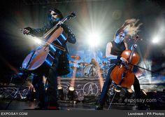 Apocalyptica...band on stage