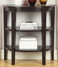 2-Shelf Console Table