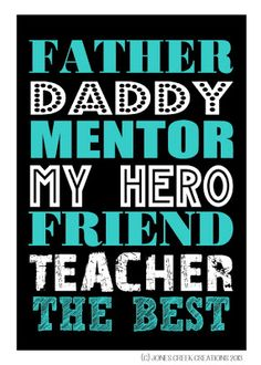 Happy Father's Day from Jones Creek Creations