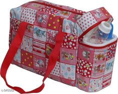 Checkout this latest Clothes Covers_1500-2000 Product Name: *Stylish Baby Diaper Bag* Material: Rexine Size: Free Size Description: It has 1 piece of Baby Diaper Bag with 2 Bottle Warmers Work: Printed Country of Origin: India Easy Returns Available In Case Of Any Issue   Catalog Rating: ★4.2 (1011)  Catalog Name: Pretty Baby Diaper Bags Vol 1 CatalogID_110818 C131-SC1628 Code: 483-940082-219