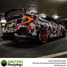 Metro Wrap Series Jumbo Cumulus Red Tiger Camouflage is sure to turn heads. Our Cumulus Red Tiger Camo vehicle vinyl wrap is available at MetroRestyling.com French Armed Forces, Organic Structure, We The Best, State Art, Vivid Colors, Picture Video, Camouflage, Vehicle, Things To Come