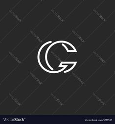 G letter logo monogram mockup elegant black and white graphic thin line style emblem business card template. Download a Free Preview or High Quality Adobe Illustrator Ai, EPS, PDF and High Resolution JPEG versions.