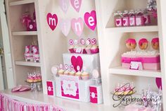 Cute 'Be Mine' Valentine's Party! Found via www.karaspartyideas.com