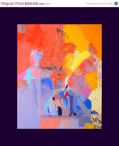 Black Friday Etsy Art- Abstract Ballet -Abstract Ballerina Painting Print -Abstract Painting Print - Canvas Art -Original Painting Print