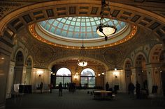 18 Places In Chicago To Go When You Need To Recharge & Feel Inspired The Chicago Cultural Center