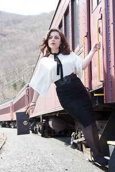 How You Shot It: 'New Beginning' - Planning a Photo Shoot at a Train Station Portrait Inspiration, Photoshoot Inspiration, Girl Photography, Fashion Photography, Photography Ideas, Pinup Photoshoot, Photo Poses, Photo Shoot, Girl Train