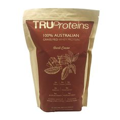 TruProteins: Grass Fed All Natural Whey Protein 2lbs