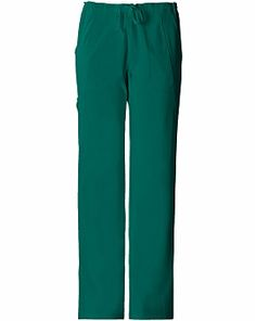 Cherokee Perfect Stretch Mid-rise, Straight Leg, Drawstring Pant 1010T