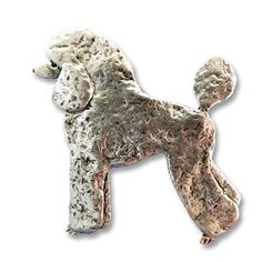 0b716baa7b12 Pewter Poodle Pin by The Magic Zoo * You can get additional details at the  image