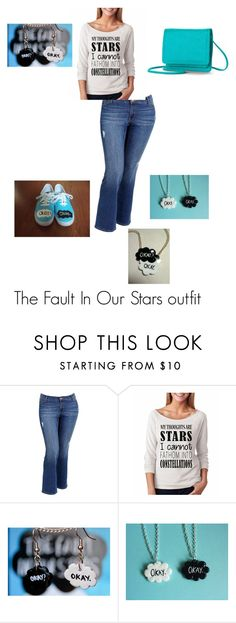 """""""The Fault In Our Stars inspired outfit"""" by tac2000 ❤ liked on Polyvore featuring Old Navy, Apt. 9, women's clothing, women, female, woman, misses, juniors, thefaultinourstars and tfios"""