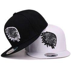 ce9e0b08710 Snapback smbroidery Skull baseball caps hats hip hop flat brim bones gorra  sport  BaseballCap Baseball
