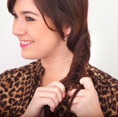 fishtail braid  herringbone braid