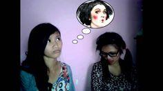 malu ketemu pacar akibat make-up ketebelan -_-