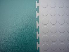 PVC-Werkstattboden Typ Industrie ECO 7/500 in glatt / Hammerschlag und Münznoppen