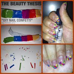 DIY: Nail Art Confetti