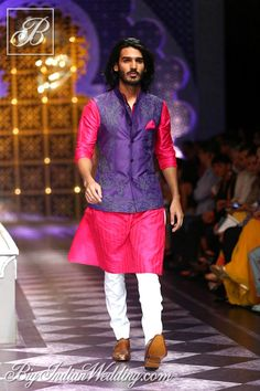 Raghavendra Rathore menswear collection at India Bridal Fashion Week 2013