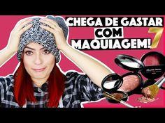 CRIANDO KIT DE MAQUIAGEM CASEIRA SEM GASTAR NADA #7    KIM ROSACUCA - YouTube