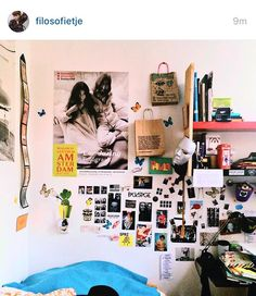 A person I follow on Instagrams room