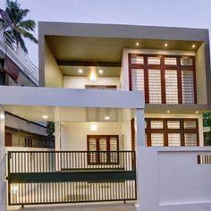 #SmallPlotHouse #Homestyle ഇത് 5.5 സെന്റിലെ നാനോഹോം; ചെറിയ സ്ഥലത്ത് മാതൃകയാക്കാം!... Cool House Designs, Modern House Design, Good House, My House, Front Elevation, Beautiful Homes, Accessorize Shoes, Home Improvement, House Plans