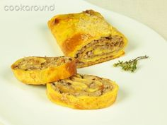 Rotolo di frittata di funghi: Ricette Finlandia   Cookaround