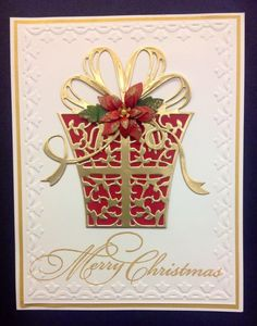 Elegant present by Colorin' Kate - Cards and Paper Crafts at Splitcoaststampers