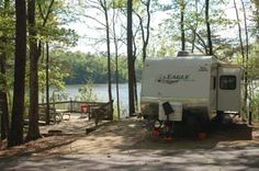 Deerlick Creek Campground - We are camping here in August except we will be in a tent!
