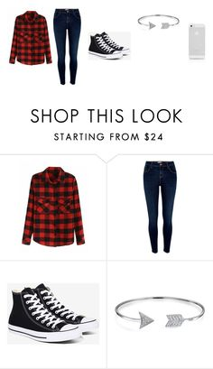 """""""Girl outfit"""" by fluffiestcomplicatedness on Polyvore featuring River Island, Converse and Bling Jewelry"""