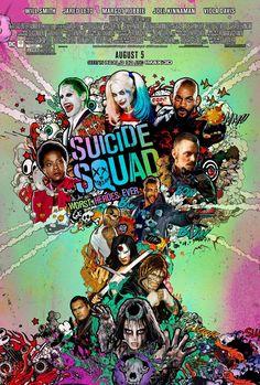 Suicide Squad dévoile une affiche qui claque