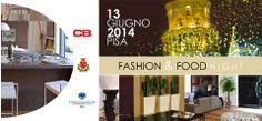 ** PISA FASHION & FOOD NIGHT **   Venerdì 13 Giugno 2014, una lunga notte che vedrà protagonisti #shopping, #slowfood, #arte contemporanea e #design. Si comincia con l'#aperitivo, ore 19, da #CBstudio!  Patrocinata dal Comune di Pisa e promossa da Confcommercio Pisa in collaborazione con l'Associazione #PisaArteeDesign.  #GiugnoPisano #Pisa #Toscana #ToscanaEventi #SlowFood #Art #Design