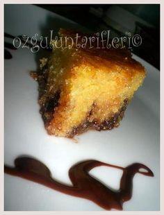 Damla Çikolatalı Revani recipe - Foodista.com