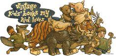 Vintage children's books - blog