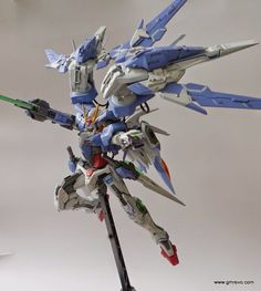 "NG 1/100 00 Raiser ""REGNANT CLAW"" Custom Build - Gundam Kits Collection News and Reviews"